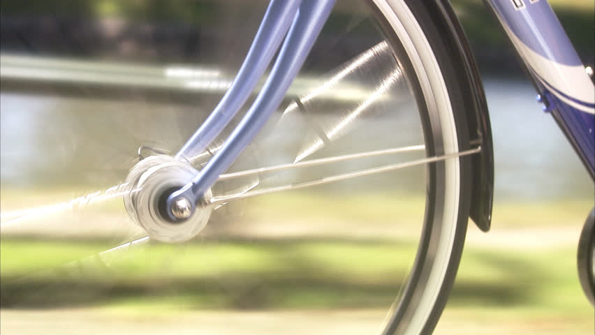 Bicycle hub, close-up