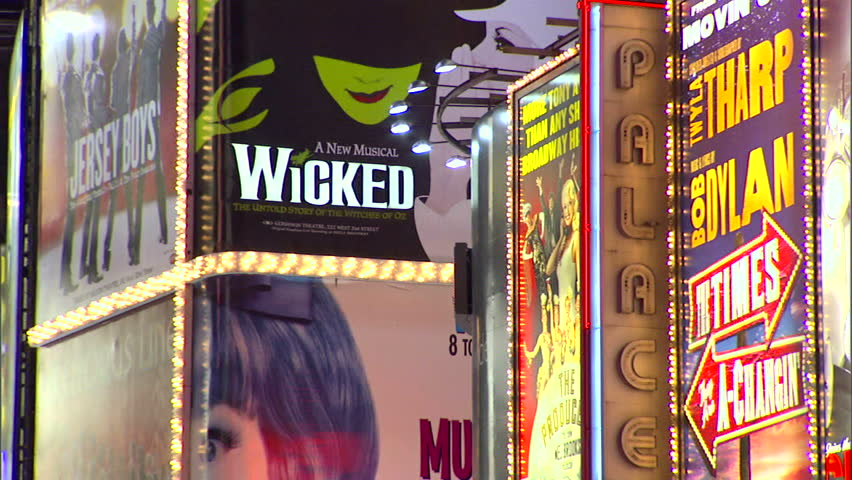 New York, NY - CIRCA 2006: Times Square is home to Broadway and the most popular plays and musicals of the day