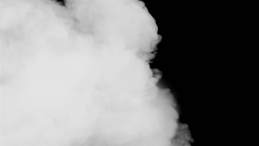 Attractive, detailed, smoke transition clip with alpha channel. From left to right transition mask. HD.