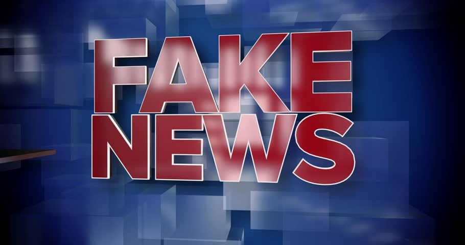 A red and blue dynamic 3D Fake News title page background animation.  	 | Shutterstock HD Video #25140278