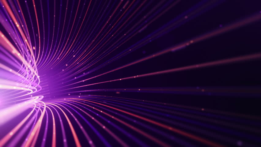 Abstract background with animation moving of lines for fiber optic network. Magic flickering dots or glowing flying lines. Animation of seamless loop. | Shutterstock HD Video #25152008