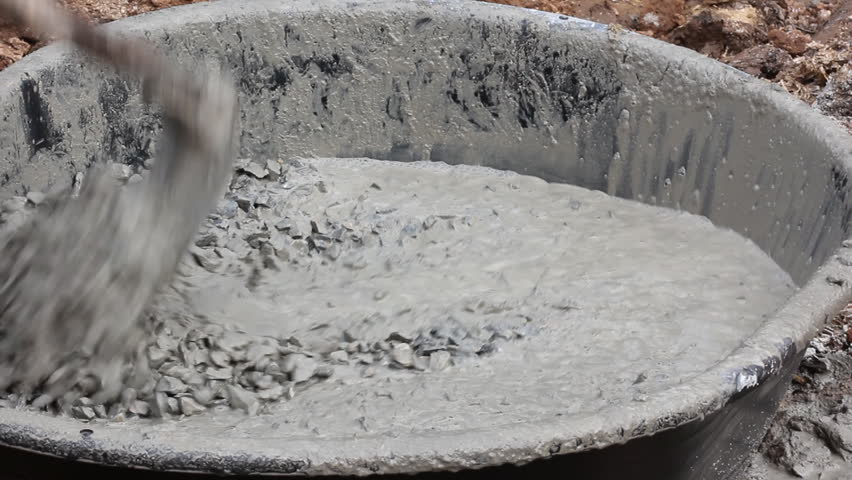 Mixing cement for the preparation of Construction .
