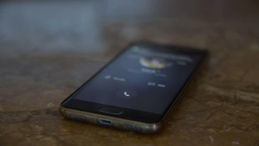 Forgotten mobile phone rings