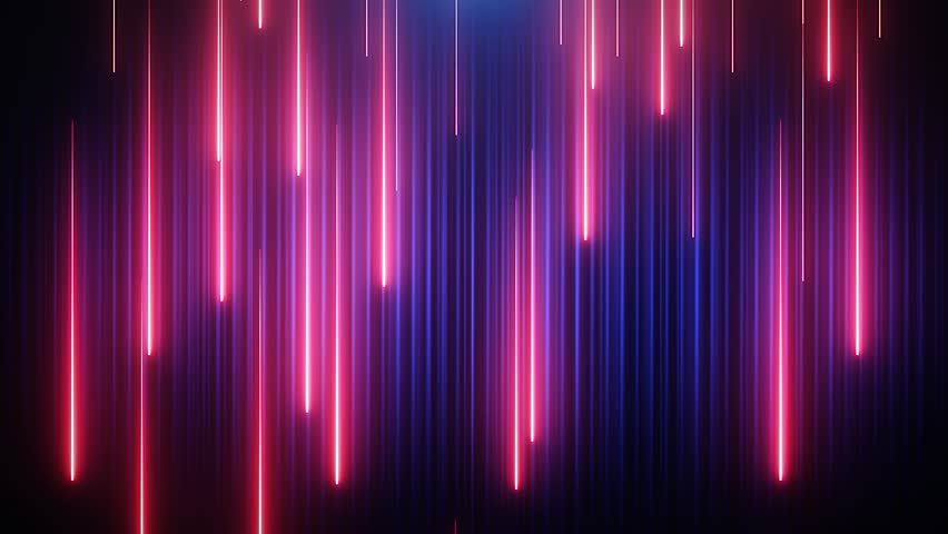 Red-blue neon animated VJ background | Shutterstock HD Video #25360751