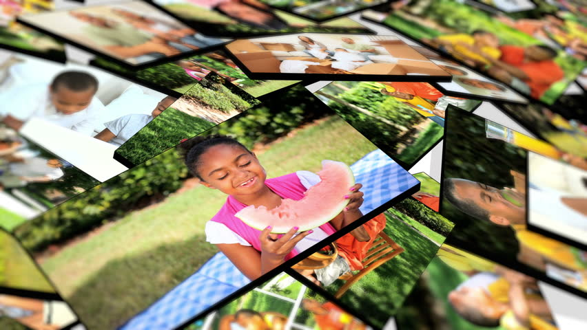3D Montage fly through images young multi ethnic family groups enjoying active outdoor lifestyle | Shutterstock HD Video #2539298