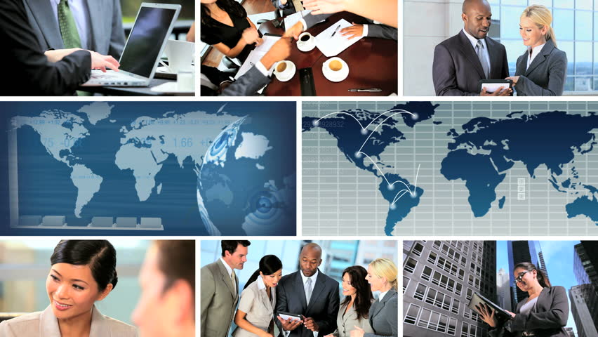 Global business montage images featuring successful achievements, worldwide | Shutterstock HD Video #2539733