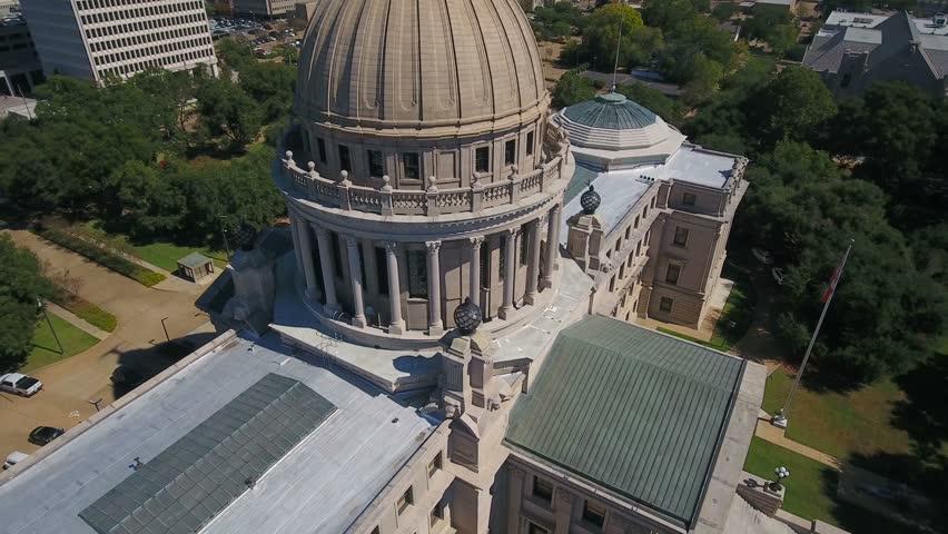 Aerial Mississippi Jackson September 2016 4K