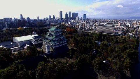 Nagoya city and castle