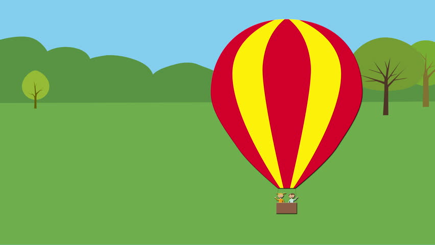 animated balloon