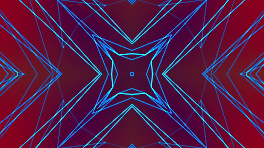 Abstract colorful pattern. Abstract background. Kaleidoscope. Seamless loop. | Shutterstock HD Video #25558586
