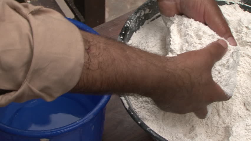 Plaster of Paris  Cu High-angle Stock Footage Video (100% Royalty-free)  25626188 | Shutterstock