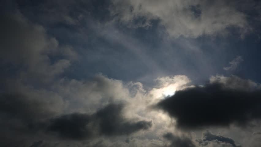 Sunrise in the clouds of Crimea. Timalapse  | Shutterstock HD Video #25675298