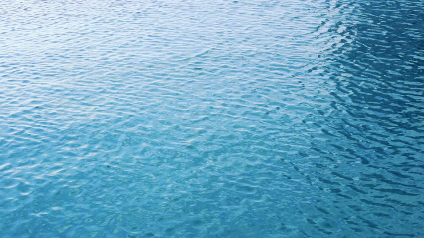 The Clear Water In Swimming Pool Water Backgrounds Stock Footage