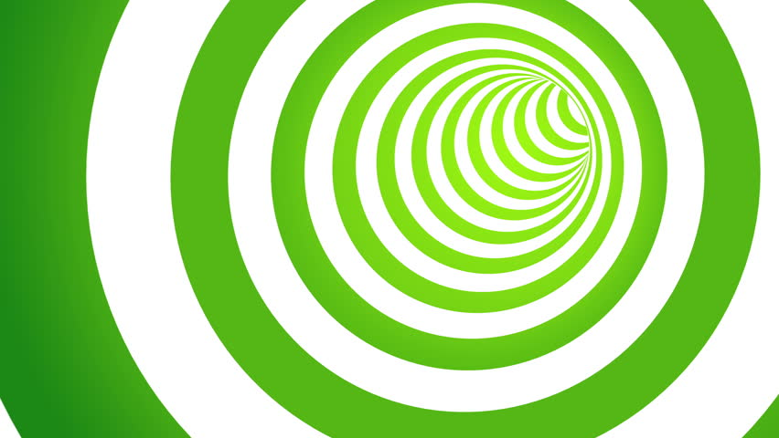 4k Disco Hypnotic Light Centerd Vj Loop Disco Effect: Loop Tunnel Rainbow Multi Colored Stock Footage Video