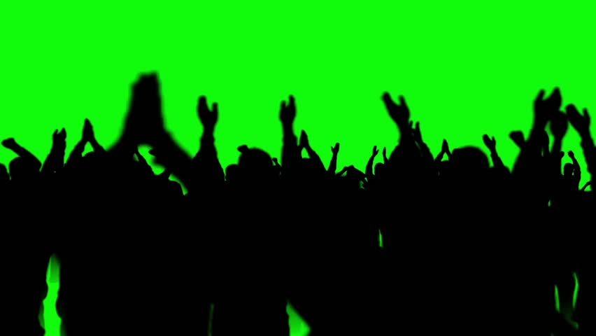 People Crowd Dance Discotheque Green Screen 3D Rendering Animation | Shutterstock HD Video #26202845