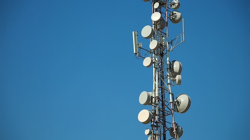 The tower with a staircase to the antennas of mobile phone communication tower antenna on blue background cell phone telecommunication tower antennas of mobile phone voltagebd Image collections