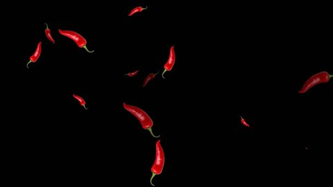 Flying Chili Pepper Animations Video
