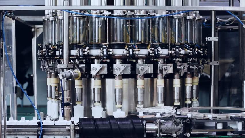 Moving modern machine and conveyor belt, industrial theme   Shutterstock HD Video #26489498