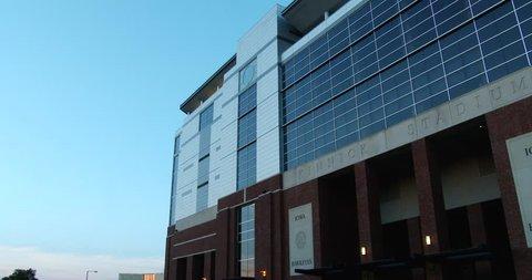 June 30, 2016, Iowa City, Iowa, Kinnick Stadium -University Of Iowa - Exterior - Pan