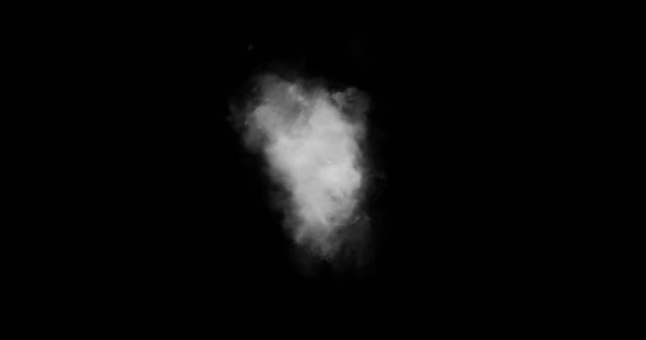 Smoke From Bottom 6 / Real live action smoke. Source coming from bottom of screen video element.