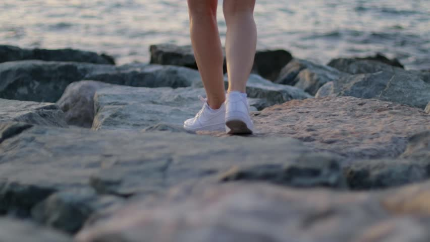 Girl Walking in Nike Shoes Stock Footage Video (100% Royalty free) 26748148 | Shutterstock