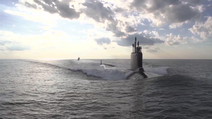 The newest virginia class submarine minnesota ssn | Shutterstock HD Video #26785669