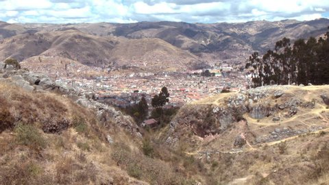 CUZCO FROM MOUNTAINS