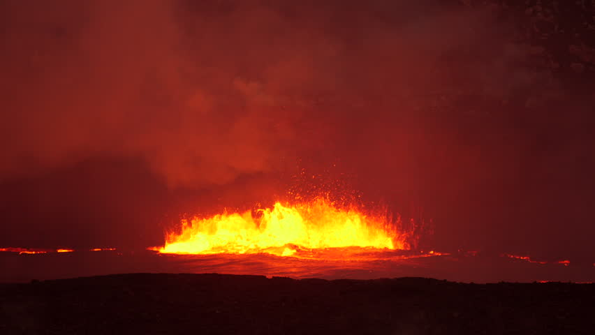 Boiling, Erupting Lava in the Stock Footage Video (100% Royalty-free)  27045628 | Shutterstock