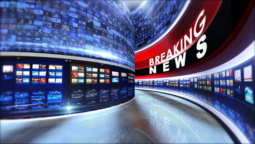Breaking News 3d virtual tv studio background..Virtual set studio for chroma footage Realize your vision for a professional-looking studio