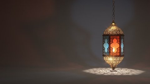 Ramadan candle lantern slow speed rotating loop animation (24 sec) Buy it now and start using this quality video in your design.