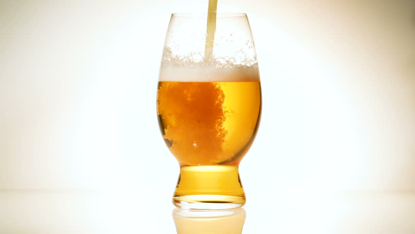 Beer poured into a glass | Shutterstock HD Video #27240148