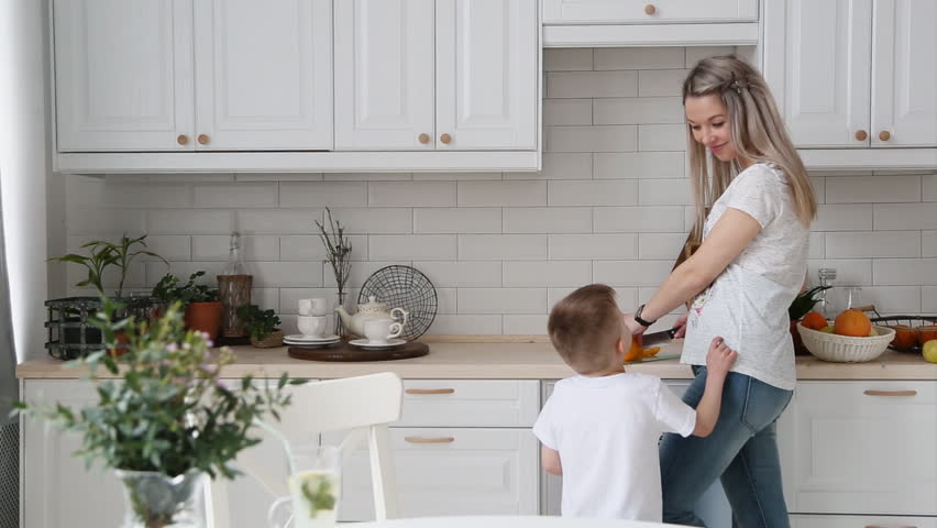 The Little Boy Asks Mom Stock Footage Video (100% Royalty-free) 27331138    Shutterstock