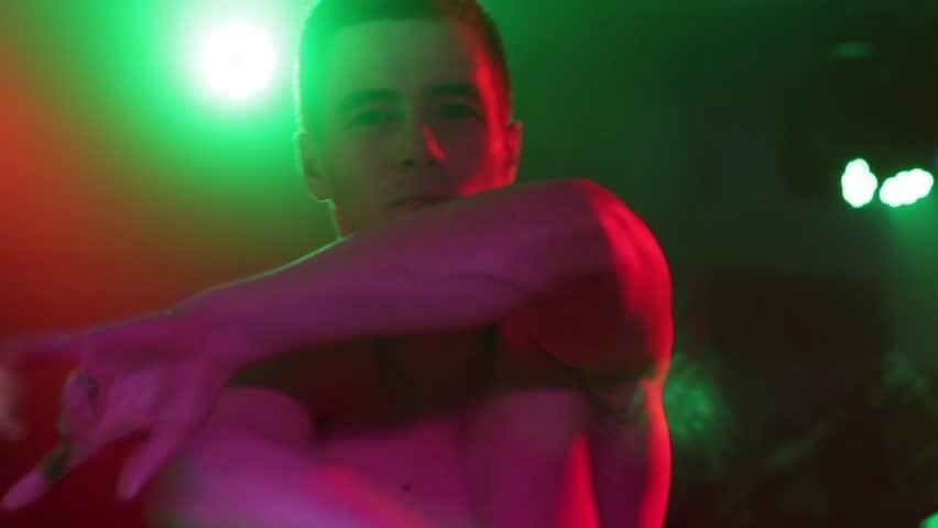 Man Dancing in Night Club | Shutterstock HD Video #27369088