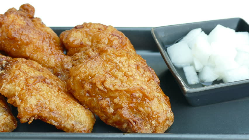 Fried Chicken Unhealthy Food Stock Footage Video 100 Royalty