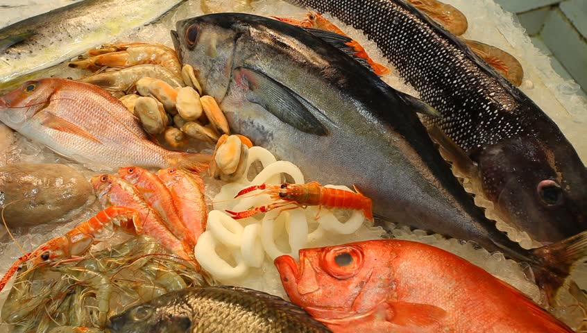 Header of fishmonger