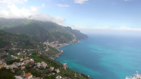 beautiful view in Ravello southern Italy