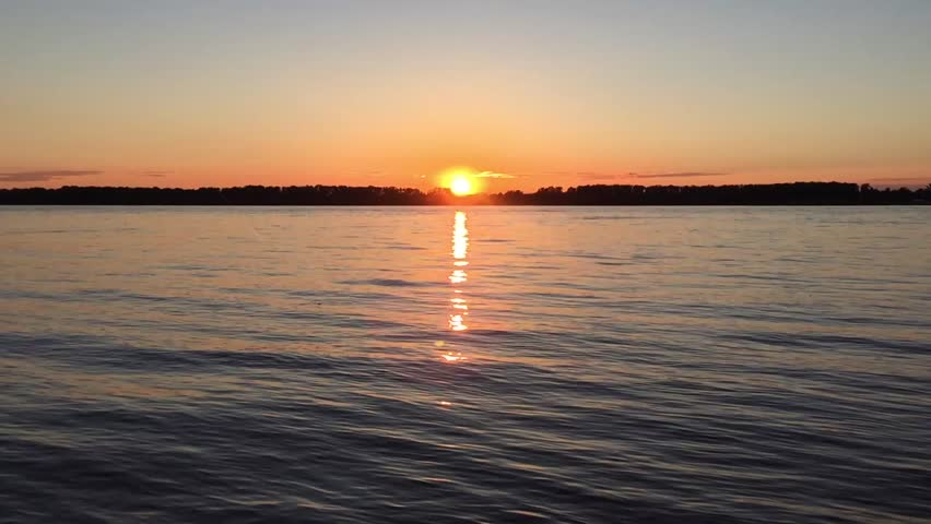 Sunset at the river Timelapse | Shutterstock HD Video #27716434