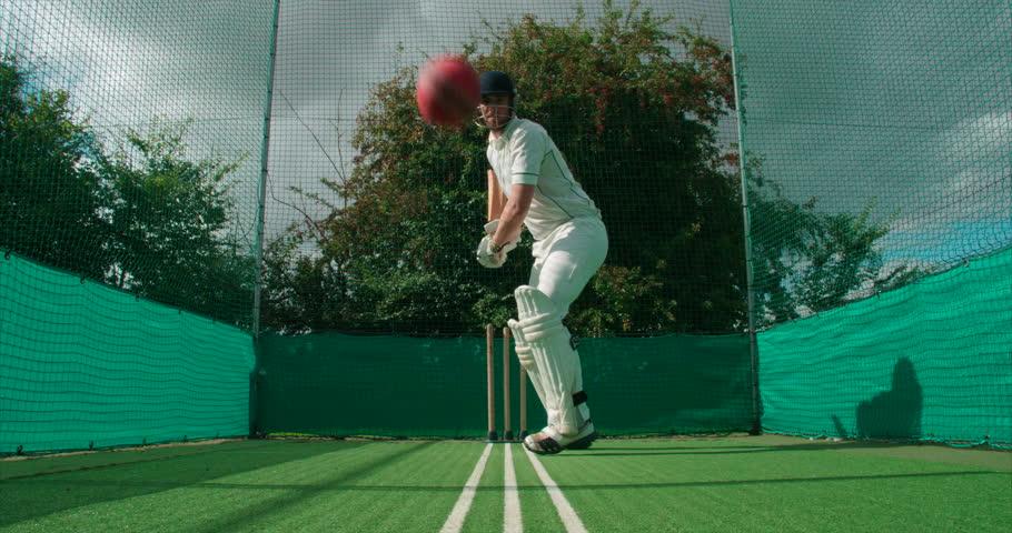 Header of batsman