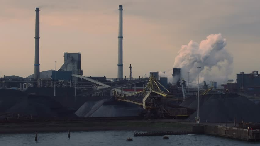 Coal Central in North Sea Canal of port of Amsterdam, with a coal transshipment volume of 16 million tonnes, expects a reduction over the next five years in order to prevent global warming