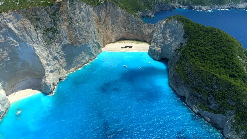 Navagio Beach / Shipwreck Beach - Zakynthos, Greece.