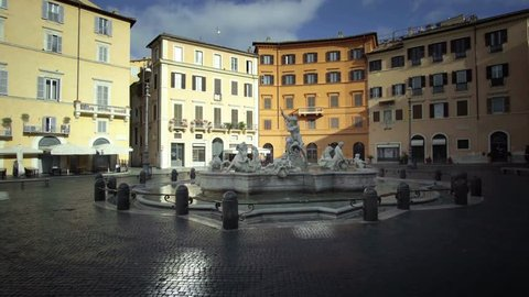 Piazza Navona, Rome. Italy