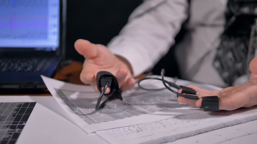 Male Hands with Polygraph Sensors Stock Footage Video (100% Royalty-free)  27872578 | Shutterstock