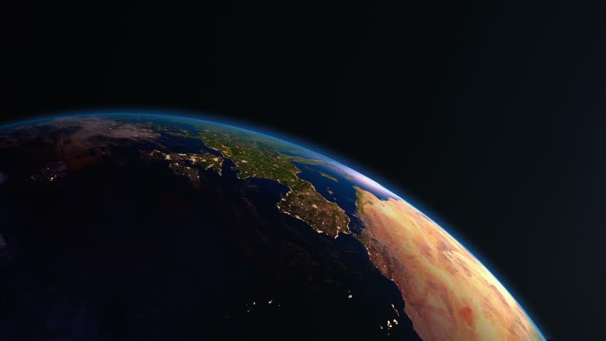 night light footprint north america nasa - photo #30