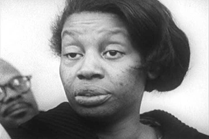 1960s: Women forming a buying club for African-Americans on welfare debate membership fees in 1967.