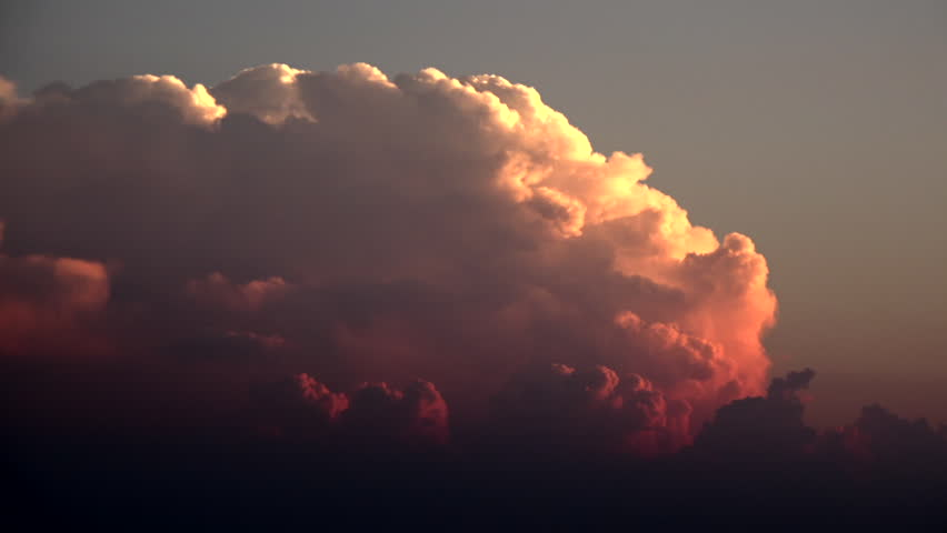 Boiling dark clouds time-lapse. #28062388