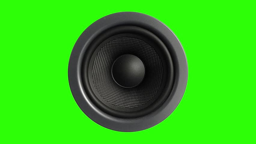 Speaker Stereo Music Green Screen 3D Rendering Animation | Shutterstock HD Video #28087168