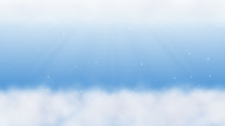 Animation of  Sky With Clouds and Starlight.  Seamless Loops. | Shutterstock HD Video #28119088