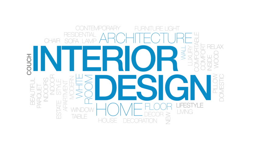 Interior Design Animated Word Cloud Stock Footage Video 100 Royalty Free 28176838 Shutterstock