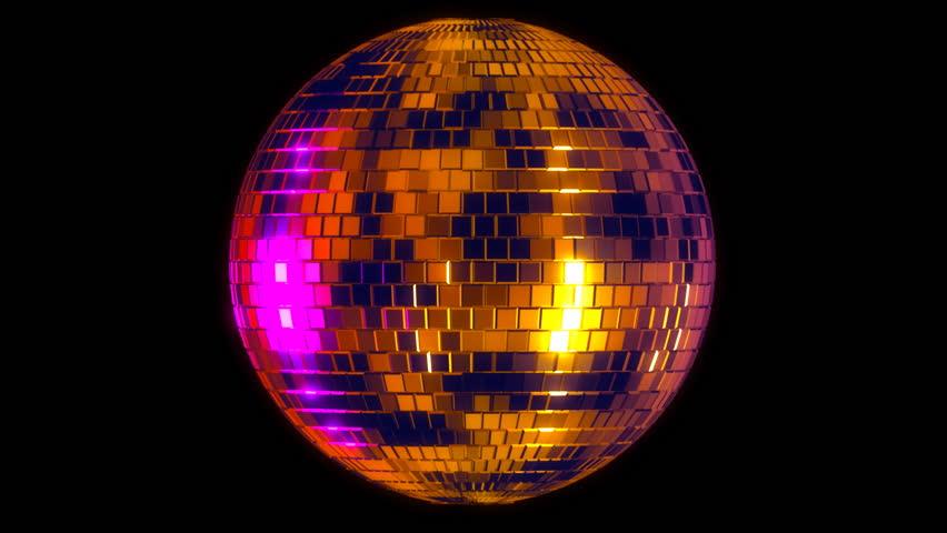 Disco ball with alpha matte | Shutterstock HD Video #2817808