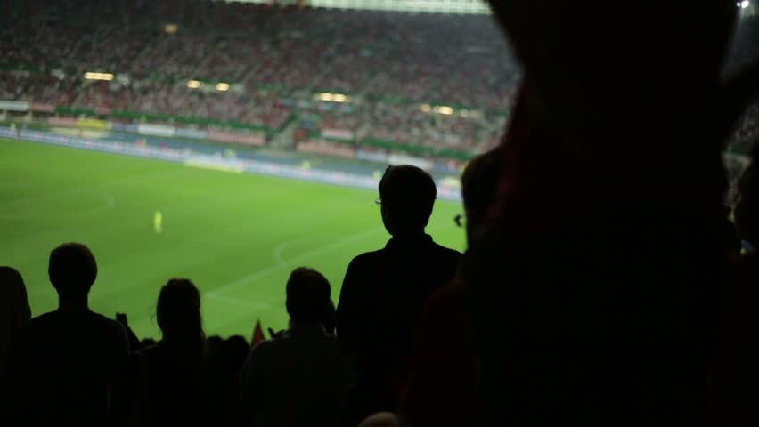 Soccer fans in stadium #2822728